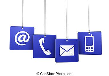 teia, contato,  Internet, nós, etiquetas