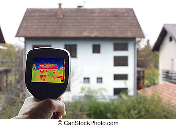 Heat Loss Detection - Checkup Thermal Insulation of the home