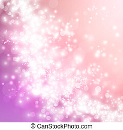Pink abstract lights background - Bright pink gradient...