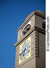 Curch Bell Capri - Curch bell of Capri next to the Piazzetta...