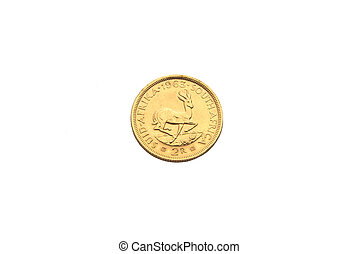 Two rand gold coin - Gold coin from South Africa