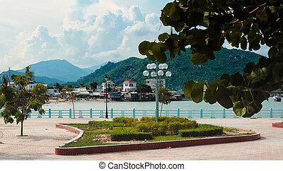 Nha trang, Vietnam - view of the city Nha trang