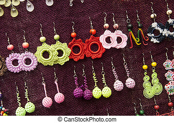 Fashion - Crochet Earrings Patterns