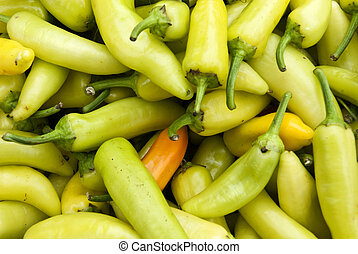 Yellow Chile Peppers