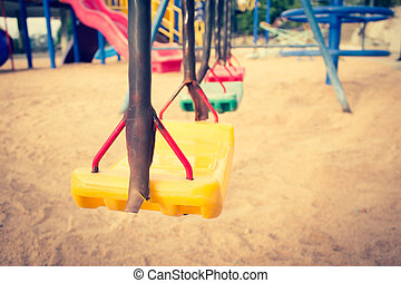 Swing Set Background,Filters Look