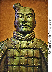 Ancient terracotta army warrior - The Terracotta Army or the...