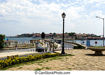 Nesebar - old Nesebar Bulgaria - city view