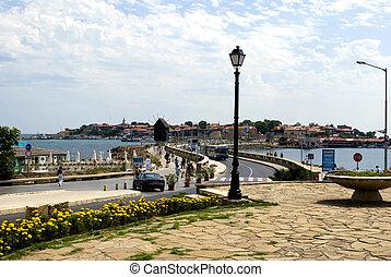 Nesebar - old Nesebar Bulgaria - city view