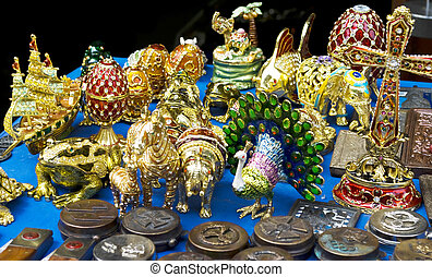 toys decorated with jewels