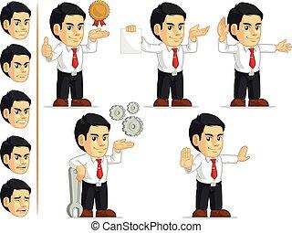 Office Worker Customizable Mascot12