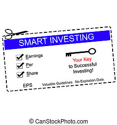 EPS Smart Investing Blue Coupon - EPS earnings per share...