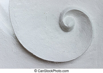 spiral abstract background and texture