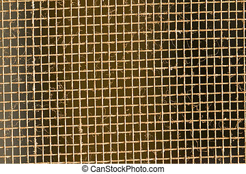 Mosquito wire screen texture