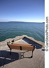 Owen Sound Ontario Georgian Bay chairs Canada