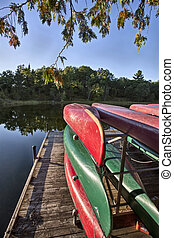 Canoe Rental Lake Huron Pinery Park Canada