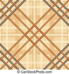 Seamless geometric checked pattern - Elegant seamless...
