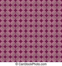 seamless pattern with interweaving of thin lines. Simple abstrac