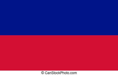 Haiti flag - civil version - National flag of Haiti - civil...