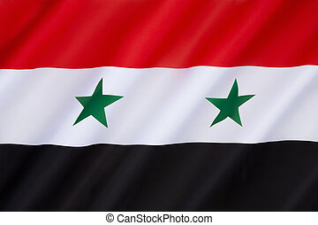 Flag of Syria - Flag used by the Syrian National Coalition...