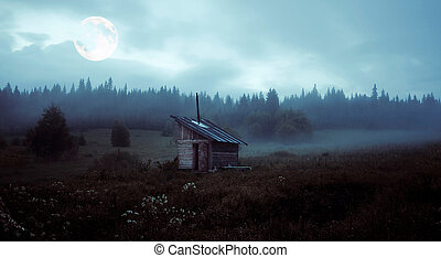the mystery moon - little house over the mystery moon...