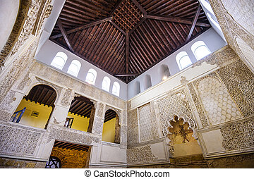 Cordoba Synagogue - CORDOBA, SPAIN - OCTOBER 9, 2014: The...