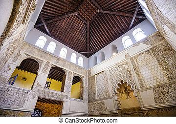 Cordoba Synagogue - CORDOBA, SPAIN - OCTOBER 9, 2014: The...
