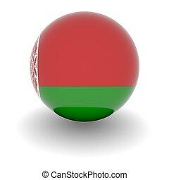 alto, bandera, Pelota, resolución,  Belarus