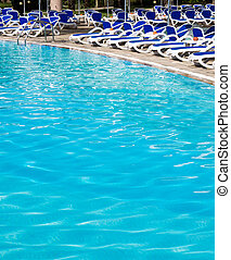 swimming pool - Beautiful swimming pool in hotel