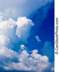 azul, sky, ,