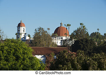 San Juan Capistrano - Church at San Juan Capistrano