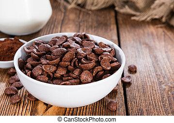 Sweet Breakfast (choco flakes) - Portion of sweet breakfast...