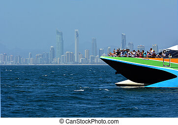 Whale Watching Cruise in Gold Coast Australia - SURFERS...