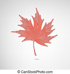 Maple Leaf Lined