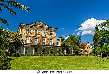 Photo de stock beau paysage ville baden baden for Baden baden allemagne maison close