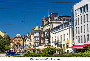 View of Konstanz city center - Germany