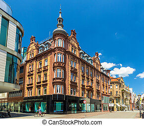 Buildings in the city centre of Konstanz - Germany