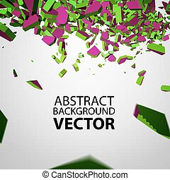 Vector Crushed Element