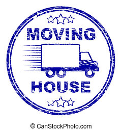 Moving House Shows Buy New Home And Bungalow - Moving House...