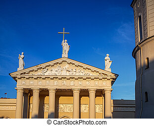 Cathedral of Vilnius Lithuania - The Cathedral of Vilnius is...