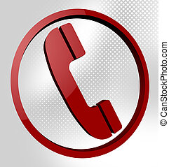 Telephone Call Means Support Conversation And Debate -...