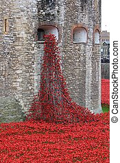Blood Swept Lands and Seas of Red Poppies - London, United...
