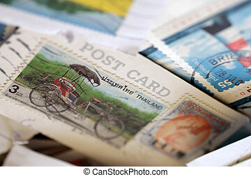 Postage stamps from Thailand - Postage stamps from around...