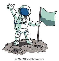 Cliparts et illustrations de astronaute 17 227 dessins et illustrations libres de droits de - Dessin d astronaute ...