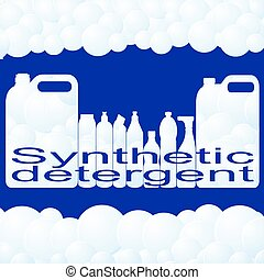 Synthetic detergent - Container for synthetic detergent...