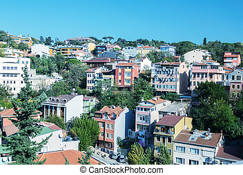 Homes and skyline of Istanbul