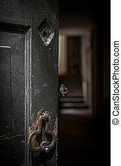 Fear - Do not open that door.