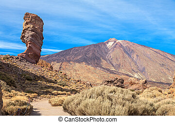 Teide National Park. Tenerife, Canary Islands - Roque...