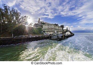 Alcatraz island, San Francisco, California - The Alcatraz...
