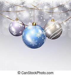 Holiday Christmas Balls