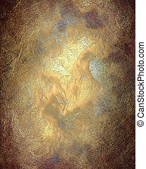 Abstract texture of red and gold background